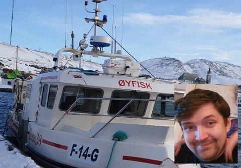 INNBRUDD: Leif-Erik Johansen er blant båteierne som har opplevd det som kan være innbrudd i flere båter i Mehamn. Det hele skal ha skjedd i helgen, og nå undersøker politiet saken.