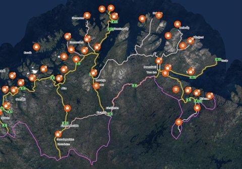 Koronasituasjonen har muligens lunket boligmarkedet i Finnmark noe, men det selges enda eiendom.