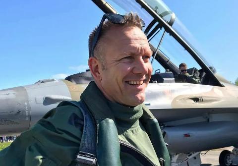 Lars Holten (52) er når ferdig i Luftforsvaret i Bodø, det er flere ting han kommer til å savne.