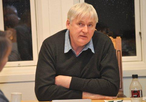 Ellef Ellegård var en av politikerne som kom med gullkorn under budsjettdebatten.