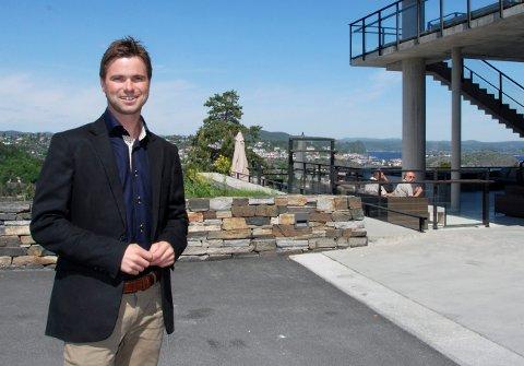 Paul Dørdal, daglig leder ved Kragerø resort.