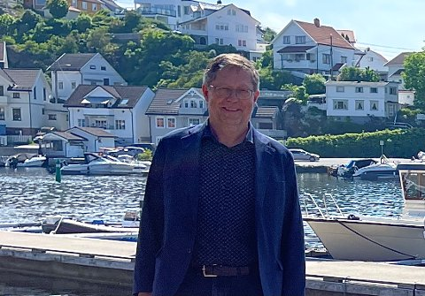 VIL VIDEREFØRE: Varaordfører Jan Petter Abrahamsen (H) er for tiden fungerende ordfører mens Grunde Wegar Knudsen (Sp) har ferie.