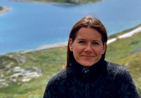 Linn Kolaas Øyre er av innbyggjarane i Nordrepollen som har vore avstengde frå resten av Kvinnherad i ei veke no, etter at eit ras råka fylkesvegen førre tysdag.