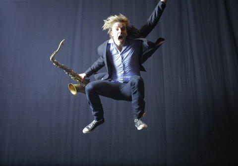 ANERKJENT: Marius Neset tar med seg kvintetten sin til Kongsberg Jazzfestival til sommeren.