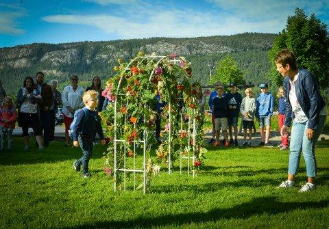 Første skoledag på Efteløt skole 2017