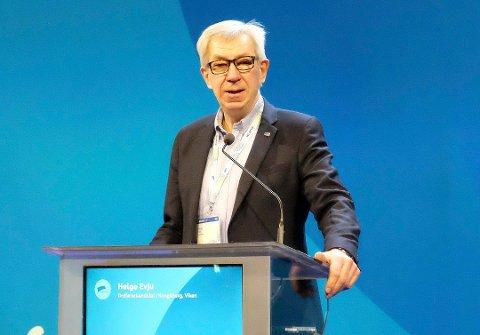NEI TIL KUTT: Ordførerkandidat Helge Evju (H) sier nei til kutt på legevakta.