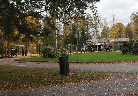 POPULÆR: Lillestrøm treningspark er svært godt besøkt og kommunen håper brukerne tenker nøye gjennom smittevern-reglene ved bruk.