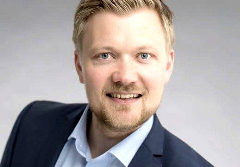 Ny sjef: Yngvar Tov Herbjørnssønn fra Stamsund overtar som konsernsjef i Norlandia Care Group. Selskapet er blant de største på salg av sykehjemsplasser og barnehageplasser til det offentlige. – Jeg er ydmyk overfor tilliten jeg er vist, sier 35-åringen. foto: NORLANDIA CARE GROUP