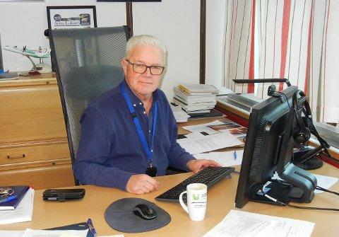 Rådmann Kjell Idar Berg har valgt å samle de i kriseledelsen som er tilgjengelig i fall vannstoppen tar lengre tid enn forventet.