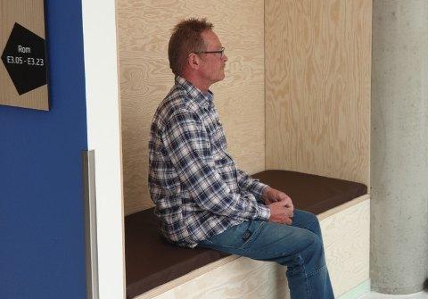 HOLDER MÅL: Arvid Møller-Jensne ved Amento kan konstatere at putene holder mål!