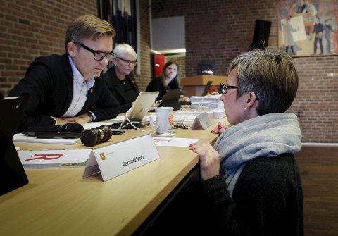 Politikere i Moss har valgt gode og fremtidsrettede løsninger for byen, mener Høyre-ordfører Tage Pettersen (t.v.) og Hanne Tollerud (Ap).