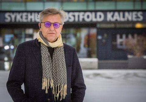 Rune Baashus, pasient Sykehuset Østfold Kalnes.