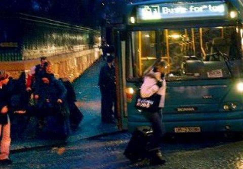 Tiltak: – Ny Kurs overleverte i møtet 27. februar forslag om at busstilbudet må forbedres dramatisk, skriver Arild Svenson.