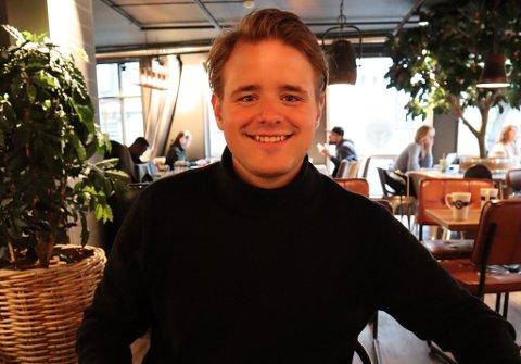 August Vagle (23) tror det vil ta noen uker før vi er helt tilbake til den vanlige hverdagen, men gleder seg likefullt.