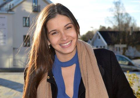 """FINALIST FRA LJAN: Imen Habes er en av åtte som kjemper om tittelen """"Miss Norway 2018"""". Arkivfoto: Janina Lauritsen"""