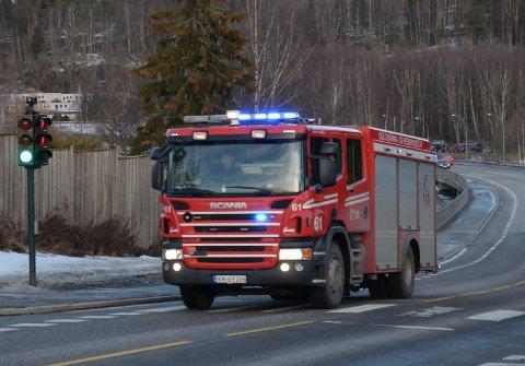 ØVELSE: Mandag er det kurs for redningsdykkere ved flere vann i Østmarka, i tillegg til at det skal trenes i utrykningskjøring med brannbil. Illustrasjonsfoto: Nina Schyberg Olsen