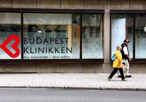 BILLIGST: Budapest Klinikken i Tromsø gir den billigste tannsjekken i byen. Men har du hastverk eller tannverk må du nok finne en annen tannlege, for kjeden holder sommerstengt.