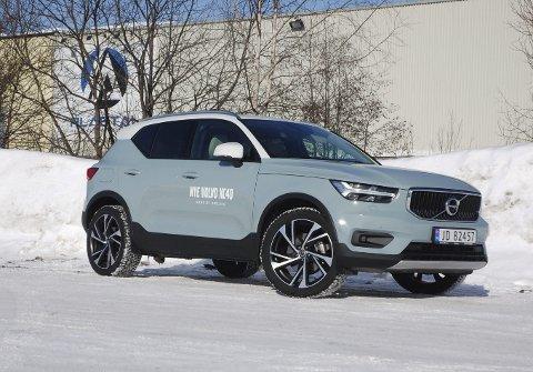 NESTEN HJEMME: Skandinaviske tradisjoner står sterkt ved utviklingen og profileringen av Volvos nye og minste SUV XC40. Bidragene fra bedriftene på Raufoss er en del av denne arven.FOTO: ØYVIN SØRAA