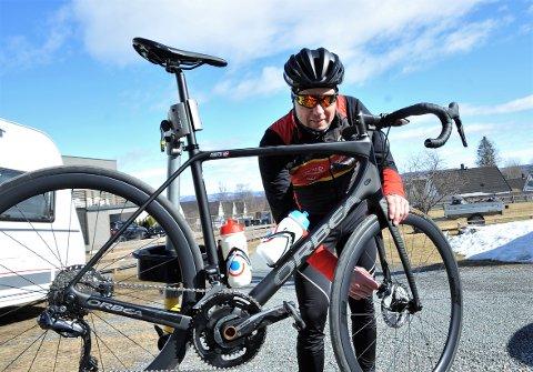 Thor Halvard Ugland mener enkle grep med vedlikehold av sykkelen kan føre til økt verdi og sparte penger.