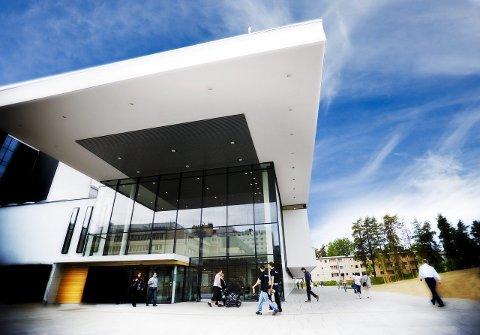 SYKEHUS: Ahus ligger i Lørenskog kommune på Romerike.