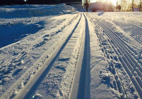 Det er flotte skiløyper i Follo for tiden. Kle på deg godt, spenn fast skiene og kom deg ut i løypene mens du enda har muligheten. Foto: Silje Andersen