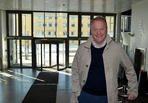 LANSERTE IDEEN: Byrådsleder Raymond Johansen (Ap) i Oslo kommune lanserte i vår ideen om å slå sammen Eidsiva Energi og Oslo-eide Hafslund. Nå ligger det an til at en sånn fusjon kan bli en realitet. (Foto: Bjørn-Frode Løvlund)