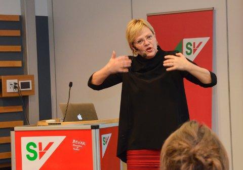 ANNERLEDES: Vi tenker annerledes om klima og miljø nå, sier direktør i Cicero Kristin Halvorsen.