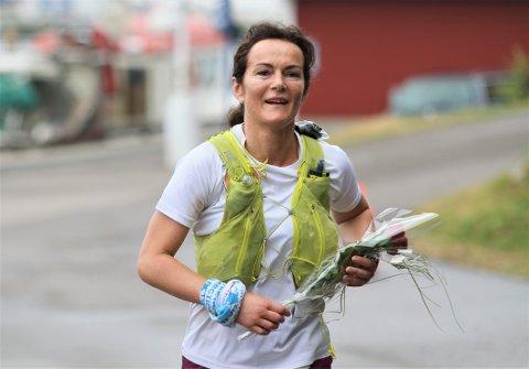 IMPONERTE: Rakel Enoksen Hagen (46) fra Elverum brukte bursdagens sin på å løpe 170 kilometer.