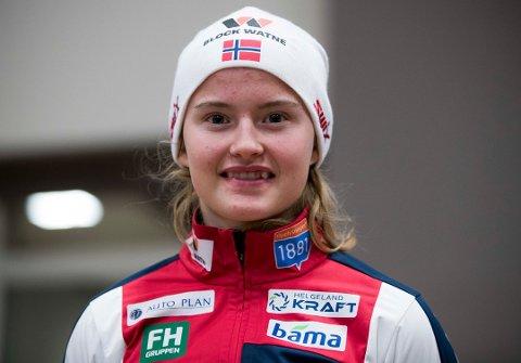 KOMBINERT: Gyda Hansen Westvold.
