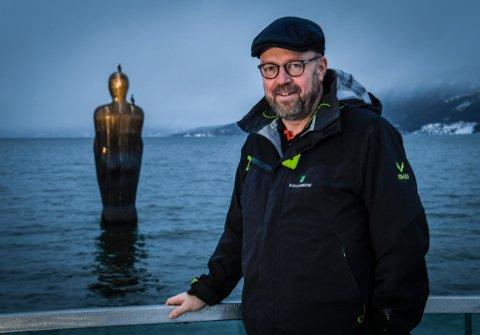 Ordfører Geir Waage mener Havmannen, og Skulpturlandskap Nordland er en suksess.