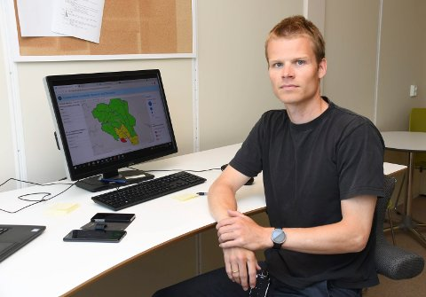 STOR ANDEL: Kommuneoverlege Einar Sanderud Stødle bekrefter at nær sagt all registrert smitte nå dreier seg om Delta.