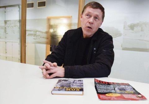 KLAR MED NY BOK: Ole J. Andersen er klar med ny bok, «Fluefangeren».