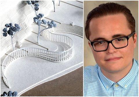 STERKE MENINGER: Erik Kursetgjerde mener debatten om det nasjonale minnestedet er uverdig.