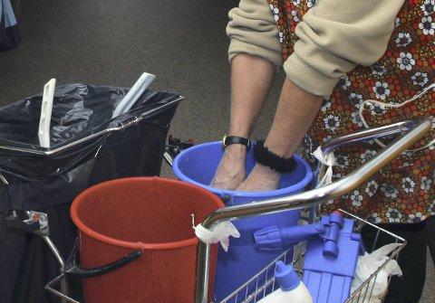 GODKJENNING: Private skal kun kunne kjøpe vaskehjelp fra godkjente virksomheter, ifølge NHO.