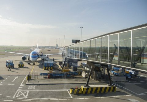 Fra Torp også i framtida: Sandefjord kommune ønsker å sikre at fly fra Torp også i framtida skal lande på Schiphol i Amsterdam. Foto: Flemming Hofmann Tveitan