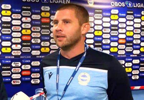 NY JOBB: Øystein Elvestad trener Sola sitt A-lag, og innrømmer at den nye jobben, trenervirket og tid med familien, kan bli i overkant hektisk.