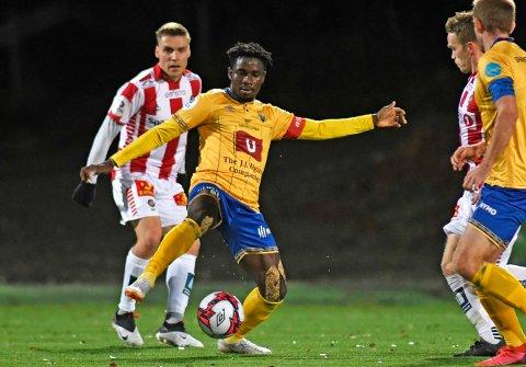 Baidoo er på vei til Sandnes Ulf. Han har U20-kamper for Ghana