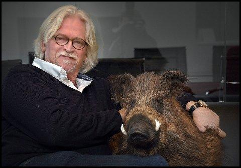 HAR SUKSESS: Gründer Ketil Koppang driver Koppang Landbruk- og Næringsmegling. Selskapet holder til på Grålum.