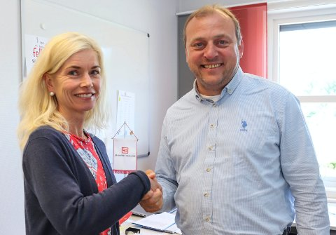STEDFORTREDER: Tone Karina Ingesen skal lede LOs distriktskontor i Østfold. Hun overtar den jobben fra Ulf Lervik.