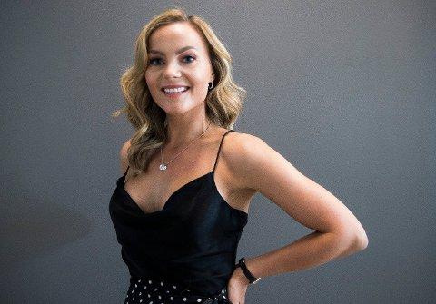 "INNTEKTSFALL: Det var et kraftig inntektsfall i 2018 for Caroline Berg-Eriksen, som for tiden kan sees på ""Bloggerne""."