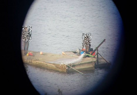 BILDEBEVIS 1: Det første bildet som er vedlagt anmeldelsen viser ifølge anmeldelsen påfylling av vann i bryggeelementet.
