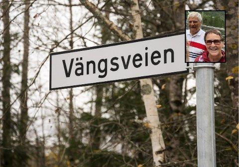 VEINAVN TIL BESVÆR: Bjørg Buer har sammen med ektemannen Arne (begge innfelt) kjempet for endring av veinavnet de bor i, i mange år.