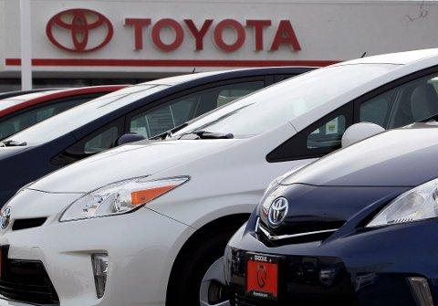 Toyota må nok en gang tilbakekalle biler. Foto: AP/NTB scanpix