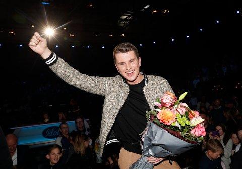 Øystein H. Hegvik (18) gikk helt til topps i Idol 2018. Foto: Terje Bendiksby / NTB scanpix