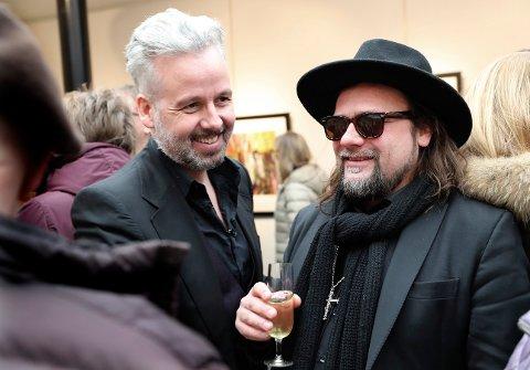 Ari Behn og Per Heimly var nære venner. De hadde flere utstillinger sammen. Heimly sier han er knust over Aris bortgang
