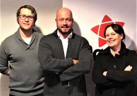 Morten Walloe Tvedt, Silje Alice Ness og Mattis Himo, Ledertrioen i Rødt Møre og Romsdal
