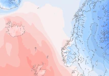 Etter lang tid med kulde over hele landet, kommer endelig litt varmere vær.