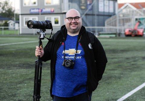 Marius Helgå er over gjennomsnittet interessert i fotball.