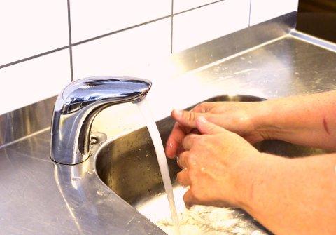 Å være nøye med kjøkkenhygiene er avgjørende for å unngå matbårne sykdommer.