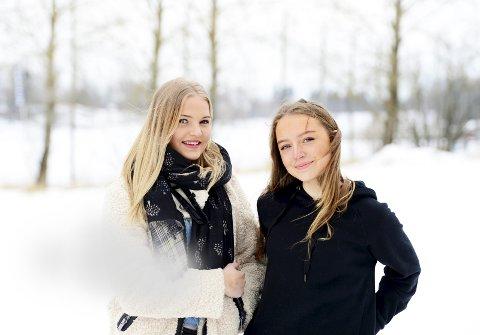 VANT I FJOR: Nataly Johansen Jogi og Ada Louise Andersen var begge seksten år da de leverte vinnerbidraget til fjorårets 8.mars-magasin i Tønsbergs Blad.